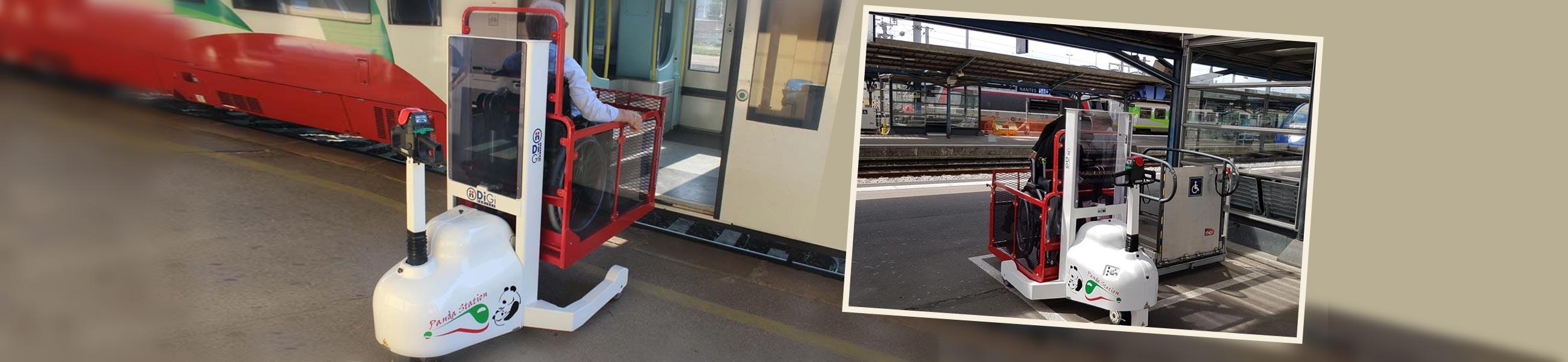 sollevatori disabili per treno