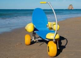 Blue Beach - Sedia mare per disabili