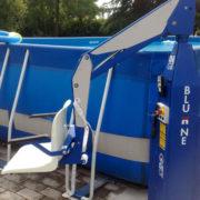 sollevatore mobile piscina disabili