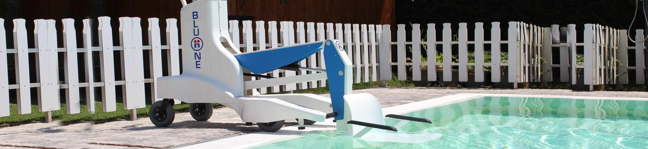 sollevatore mobile disabili piscina