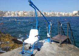 sollevatori per disabili piscina