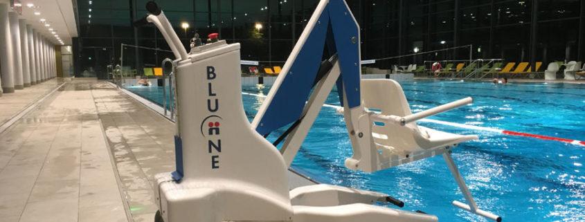 sollevatori mobili per piscina
