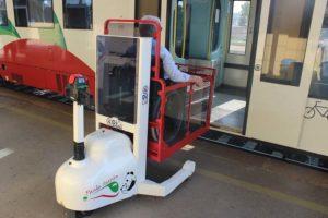 sollevatori disabili stazione treni