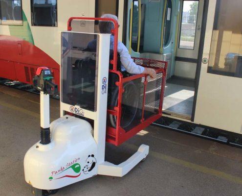 Élévateurs pour gare des trains