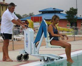 Lo sport dev essere per tutti e di tutti digi project - Sollevatore piscina per disabili ...