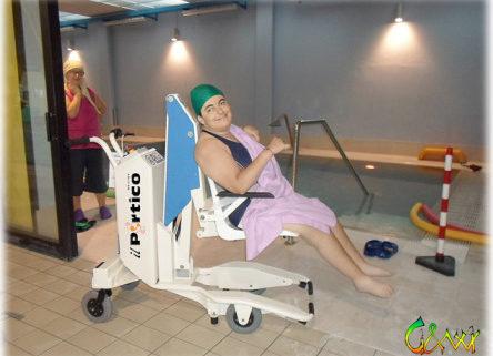 Sollevatore per disabili in piscina digi project - Piscina novellara ...