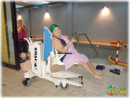 Sollevatore per disabili in piscina digi project - Sollevatore piscina per disabili ...