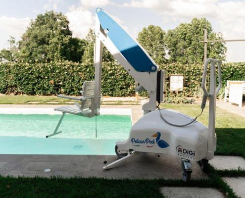 Sollevatore piscina disabili Pelican