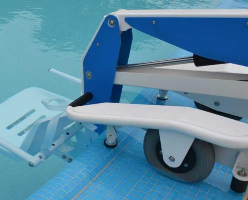 Sollevatore piscine disabile