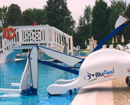 Sollevatore piscine disabili