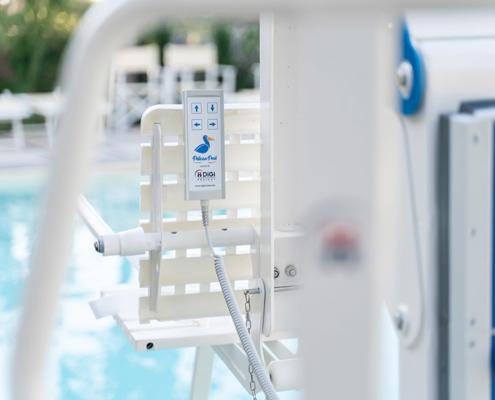 Sollevatore piscine disabili Pelican