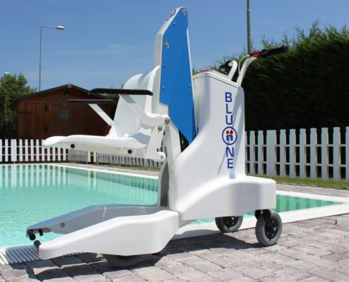 Sollevatore piscine per disabili