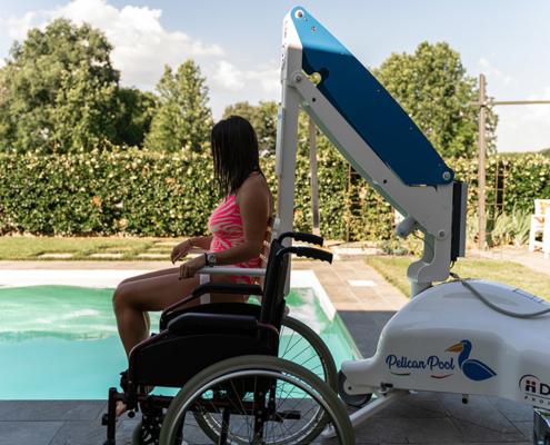 Sollevatori disabili piscine