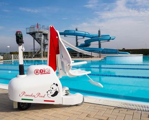 Sollevatori per piscina disabile