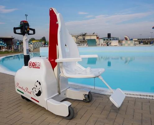 Sollevatori per piscina disabili