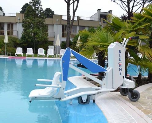 Sollevatori piscina disabile