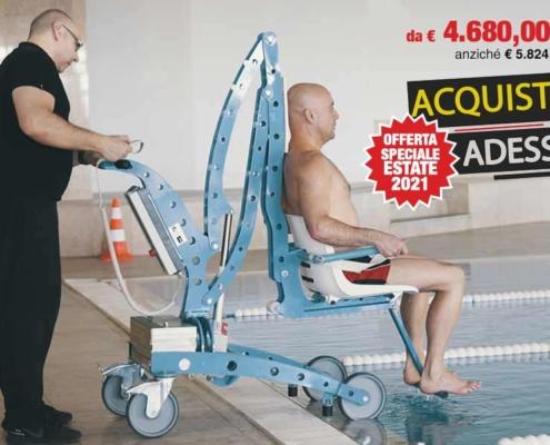 Sollevatori piscina per disabile