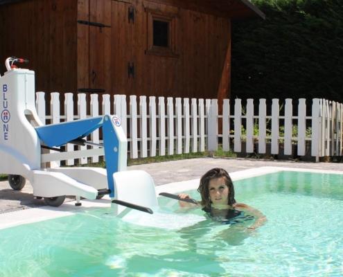 Sollevatori piscine per disabili